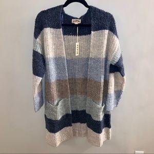Pepin Anthro Cardigan Sweater S NWT